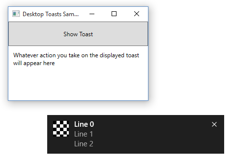 How to make a notification in C# in Windows 10 | WhiteByte